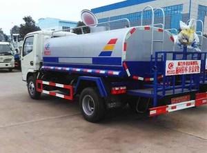 东风国五5吨绿化洒水车图片